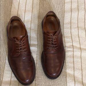 Johnston & Murphy brown leather Oxfords Men's 8.5M